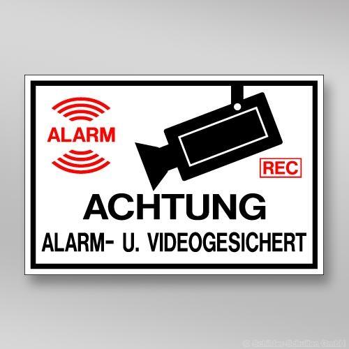 Alarm- u. Videogesichert AL.130.251