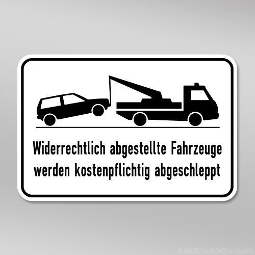 Halteverbotsschild 60x40cm HV01.002