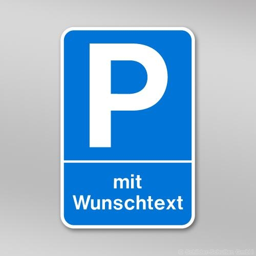 Parkplatzschild P01.203
