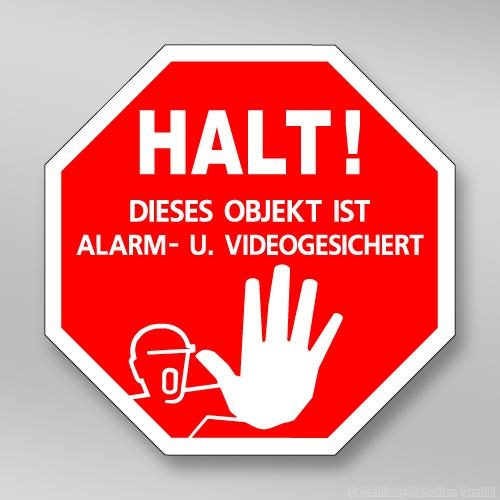 Alarm- u. Videogesichert AL.145