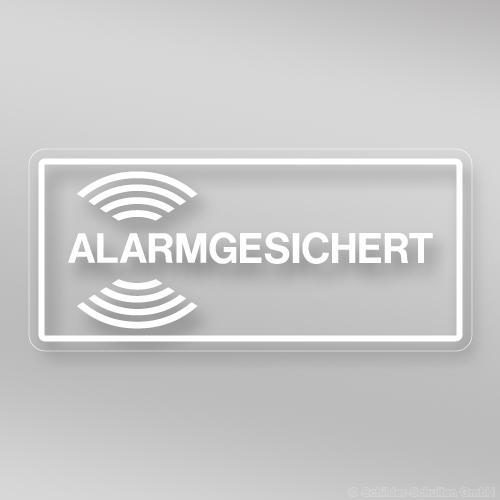 Alarmaufkleber AL.2201