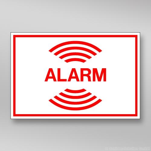 Alarmaufkleber AL.254
