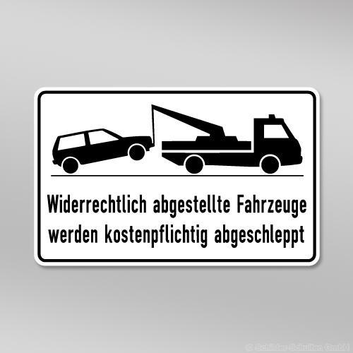 Halteverbotsschild 40x25cm HV01.001